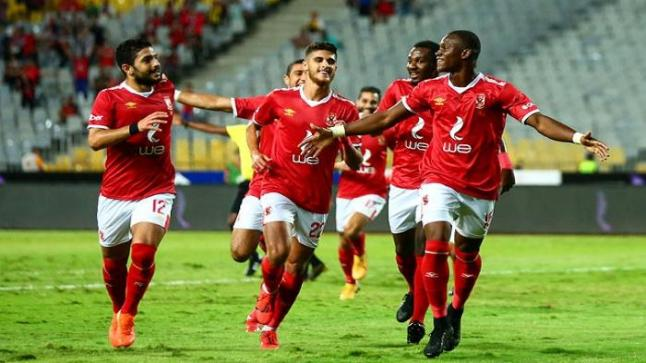 إصابة لاعبي الأهلي قبل مواجهة إنبي في الدوري المصري
