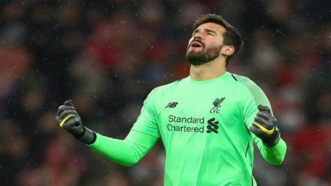 أليسون: ليفربول غير حياتي.. وأعشق تواجدي داخل النادي