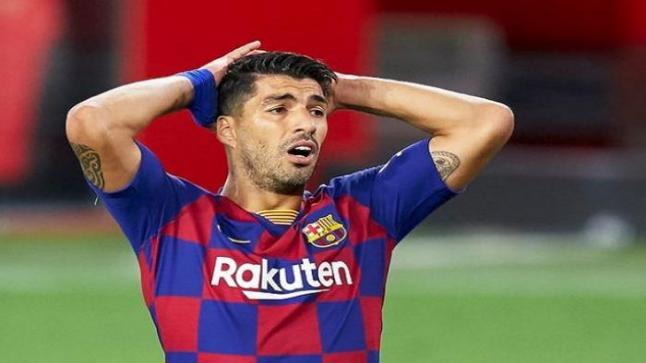 برشلونة يسهل رحيل سواريز عن الفريق